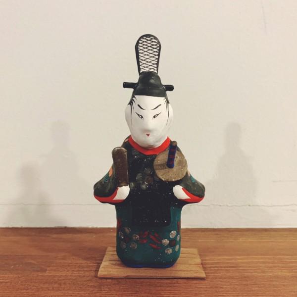 福島県・三春張子『立ち天神』 | 民芸・郷土玩具