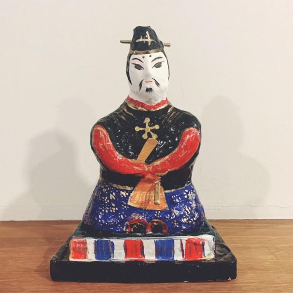 天神さまの張子人形 | 宇土張子『天神』 | 熊本県宇土市 | 郷土玩具・張子人形・民芸