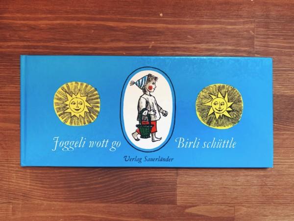 フェリックス・ホフマンの絵本 Felix Hoffmann: Joggeli wott go Birli schuttle(ヨッケリなしをとっといで) | 1983年再版 | スイスの絵本