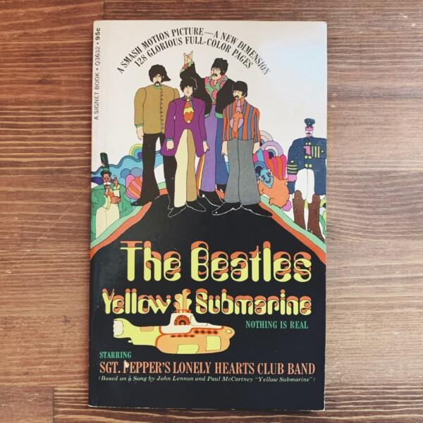 ザ・ビートルズ The Beatles: Yellow Submarine | 1968年初版・THE NEW AMERICAN LIBRARY | 映画・アニメーション・音楽