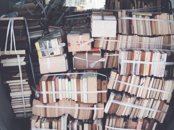 兵庫県西宮市にて、お家の蔵書丸ごと整理!古本出張買取に行って参りました。