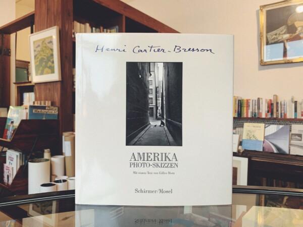 アンリ・カルティエ=ブレッソン写真集 Henri Cartier-Bresson: AMERIKA photo-skizzen | 写真集