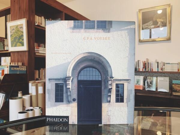 チャールズ・ヴォイジー作品集 CFA VOYSEY | WENDY HITCHMOUGH著・1995年初版・PHAIDON | 建築書・工芸・テキスタイルデザイン