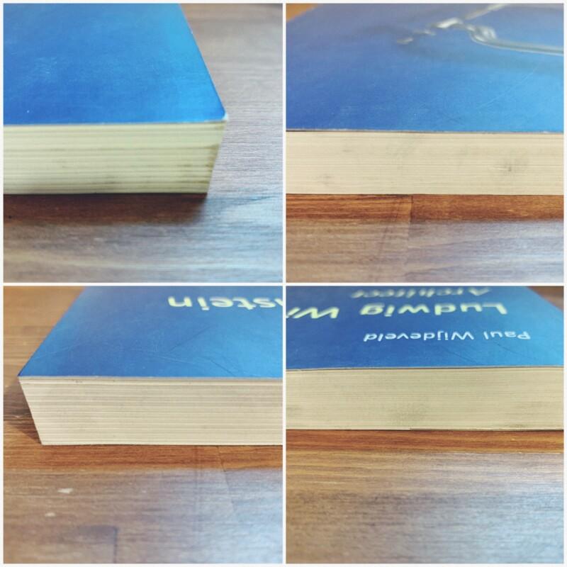 ルートヴィヒ・ウィトゲンシュタイン Ludwig Wittgenstein Architect | 2000年再版・The Pepin Press | 建築書・哲学