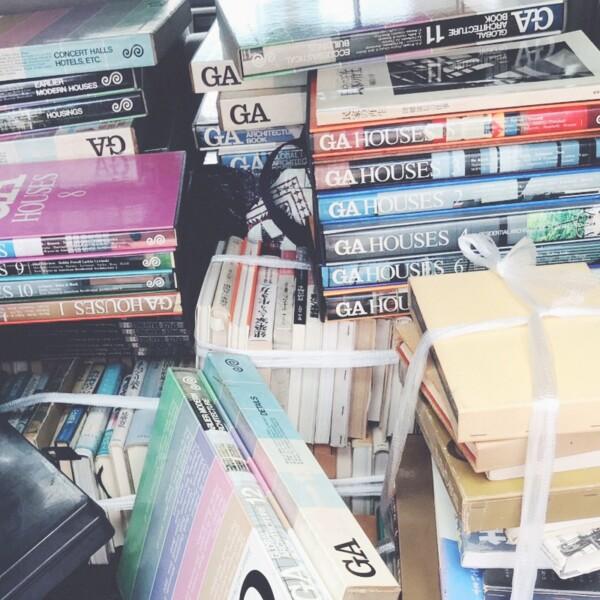 大阪市中央区本町にて、建築書の出張買取