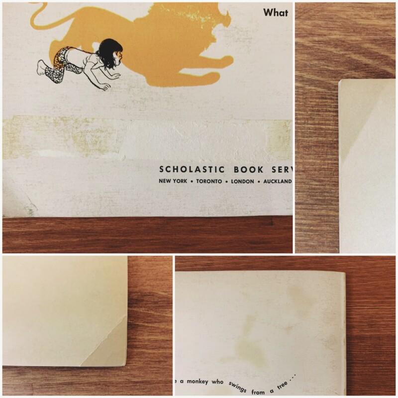 アメリカのヴィンテージ絵本 Just Suppose   絵:ブリントン・タークル BRINTON TURKLE / 文:May Garelick   1969年初版・SCHOLASTIC BOOK SERVICE   絵本・イラストレーション